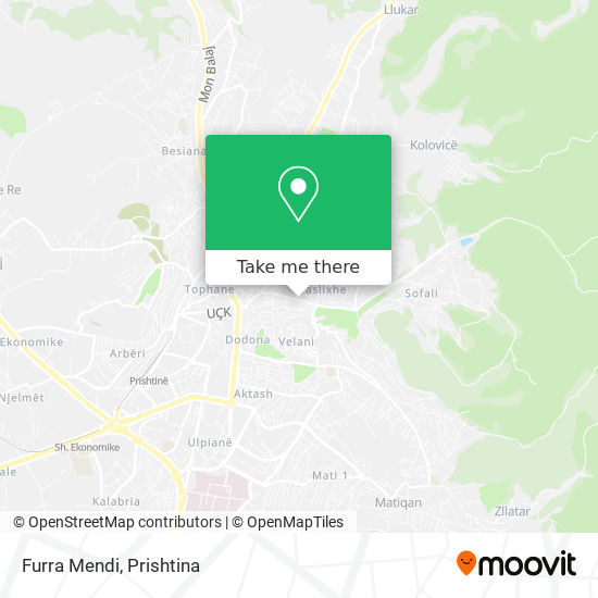 Furra Mendi map