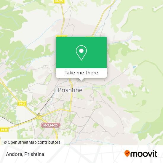 Andora map