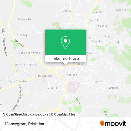 Moneygram map