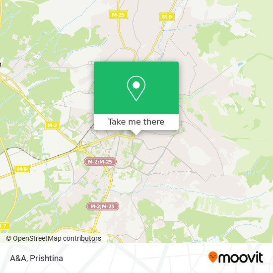 A&A map