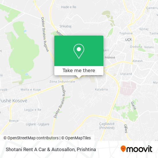 Shotani Rent A Car & Autosallon map