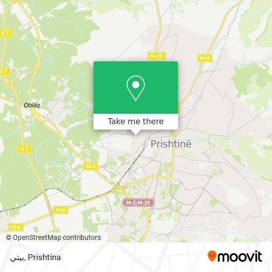 بيتي map
