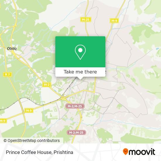 Prince Coffee House map