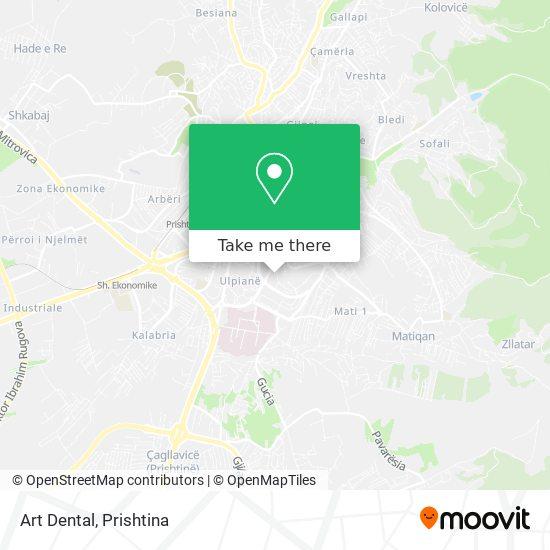Art Dental map
