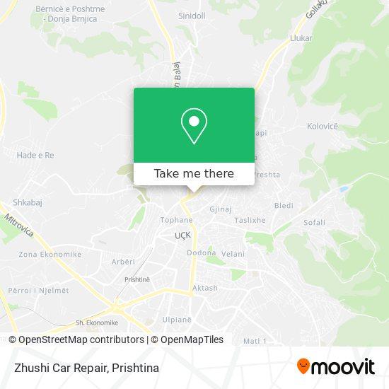 Zhushi Car Repair map