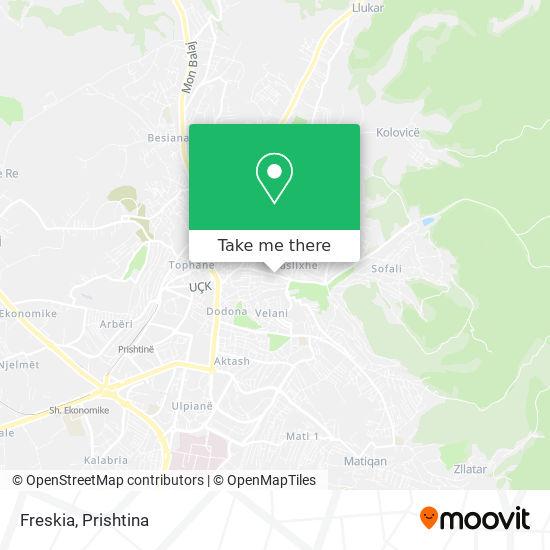 Freskia map