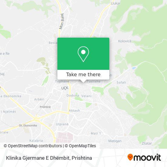 Klinika Gjermane E Dhëmbit map