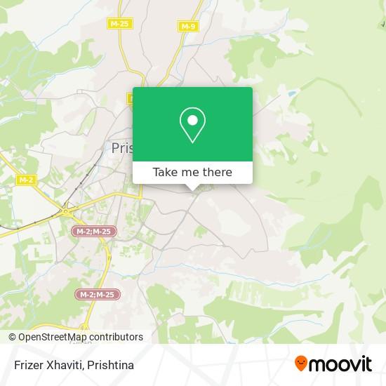 Frizer Xhaviti map