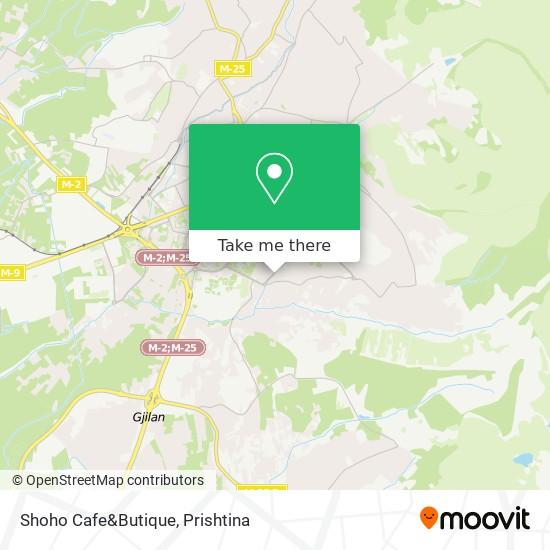 Shoho Cafe&Butique map