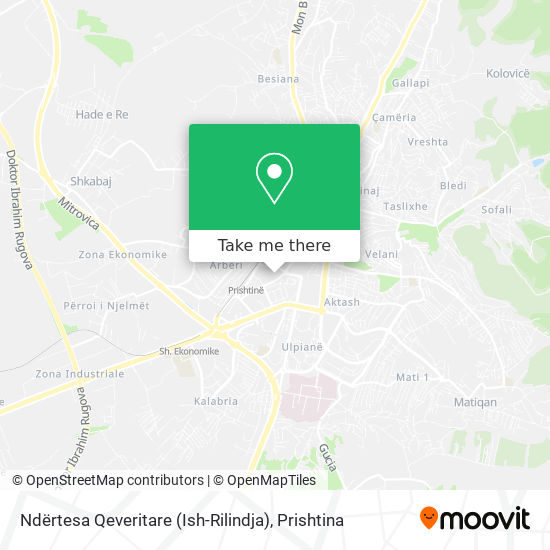 Ministria E Shërbimeve Publike map