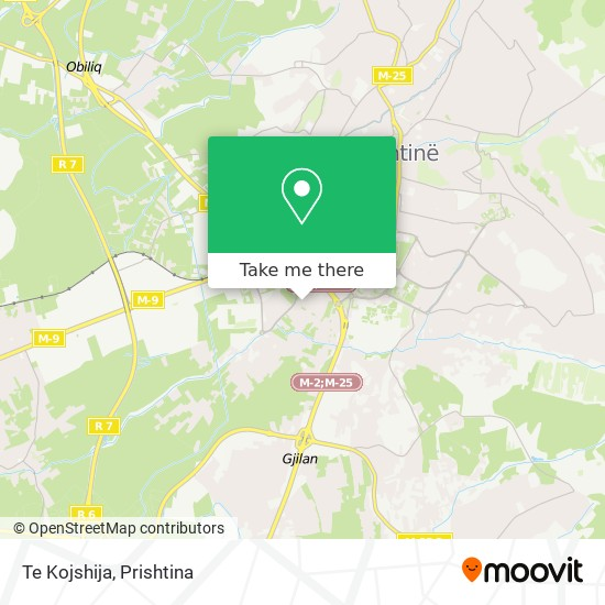 Te Kojshija map