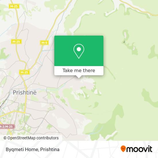 Byqmeti Home map