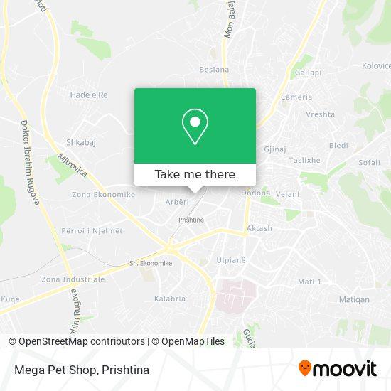 Mega Pet Shop map