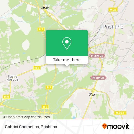 Gabrini Cosmetics map