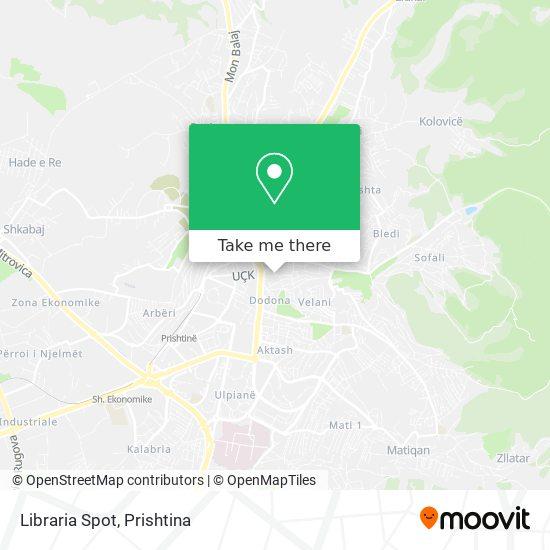 Libraria Spot map