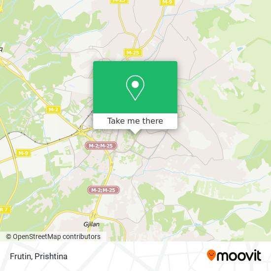 Frutin map