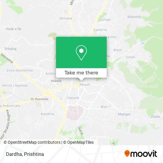 Dardha map
