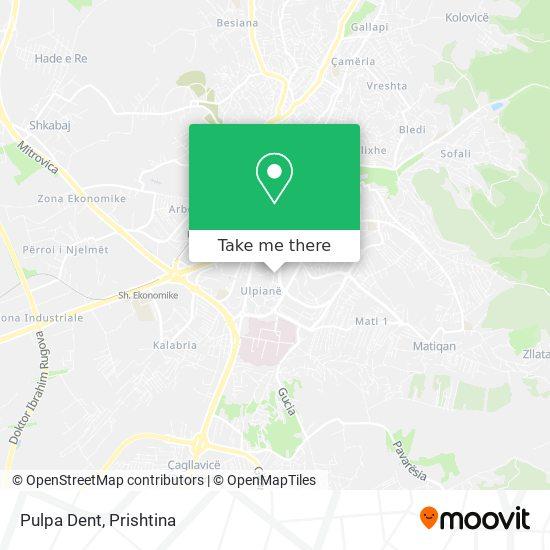 Pulpa Dent map