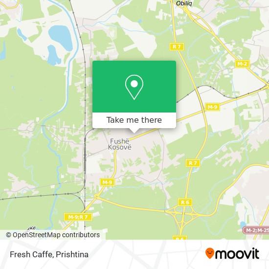 Fresh Caffe map