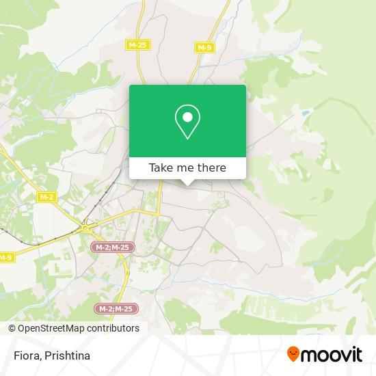 Fiora map