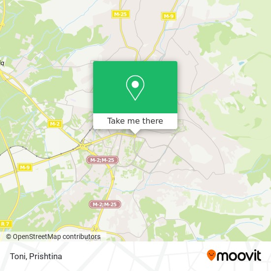 Toni map