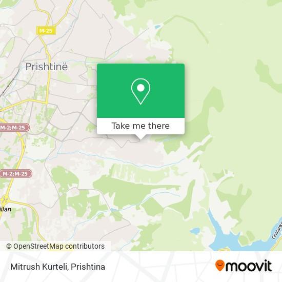 Mitrush Kurteli map