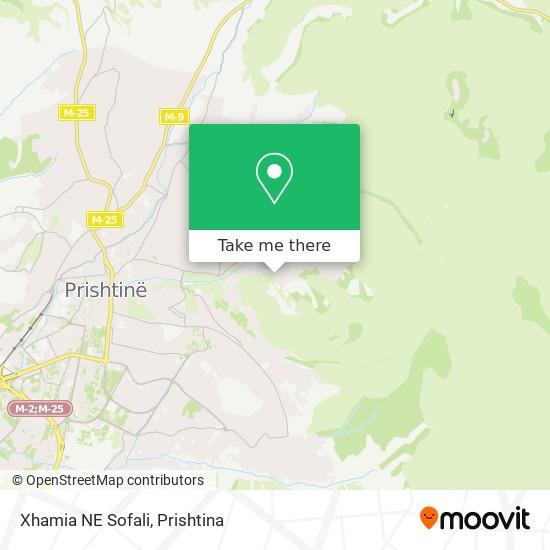 Xhamia NE Sofali map