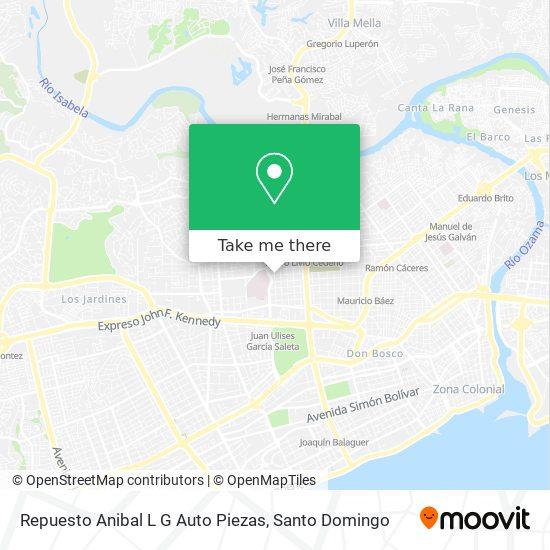 Repuesto Anibal L G Auto Piezas map