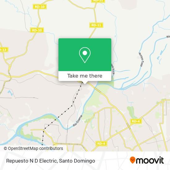 Repuesto N D Electric map