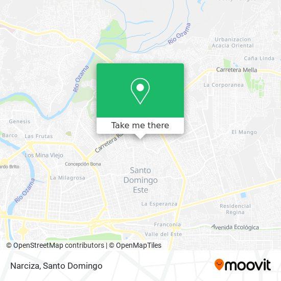 Narciza map