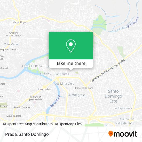 Prada map