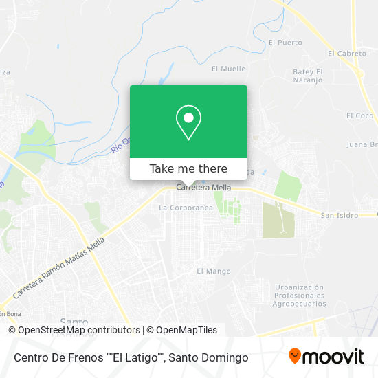 "Centro De Frenos """"El Latigo"""" map"
