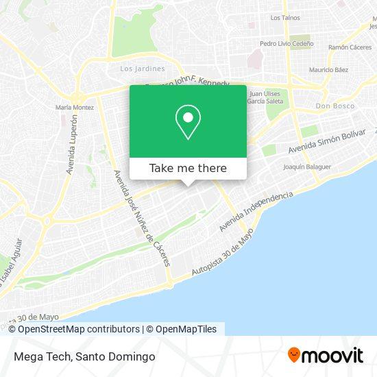 Mega Tech map