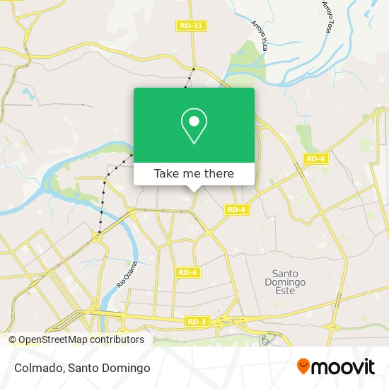 Colmado map