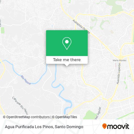 Agua Purificada Los Pinos map