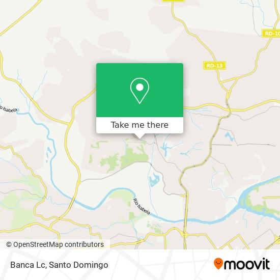 Banca Lc map