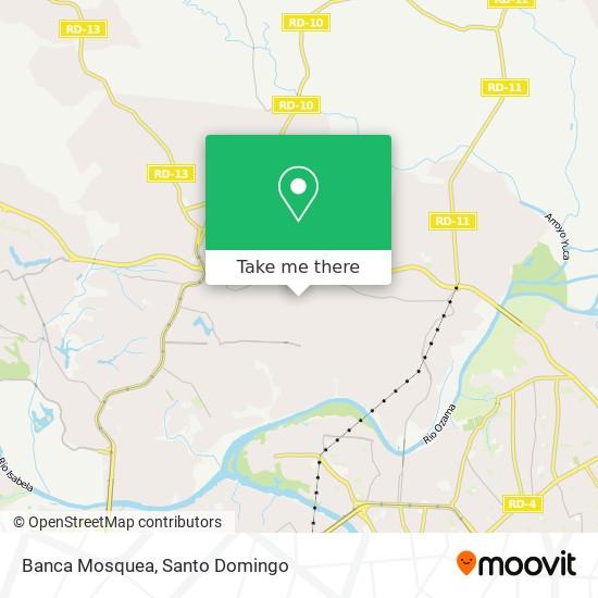 Banca Mosquea map