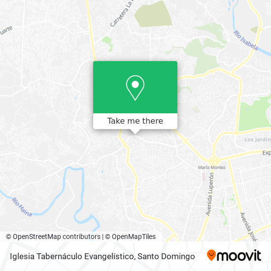 Iglesia Tabernáculo Evangelístico map