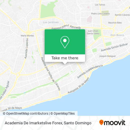 Academia De Imarketslive Forex map