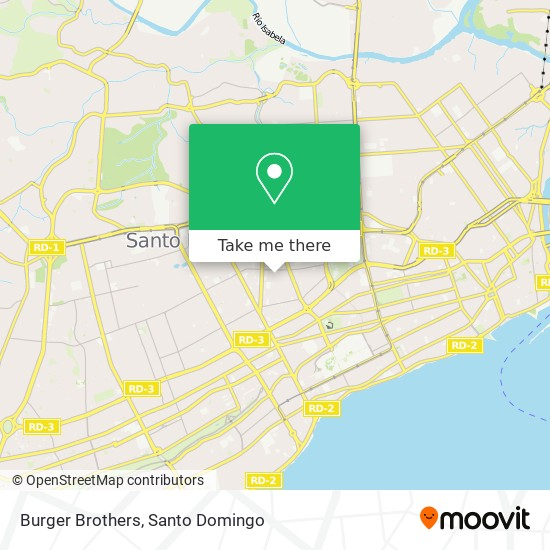 Burger Brothers map