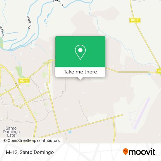 M-12 map