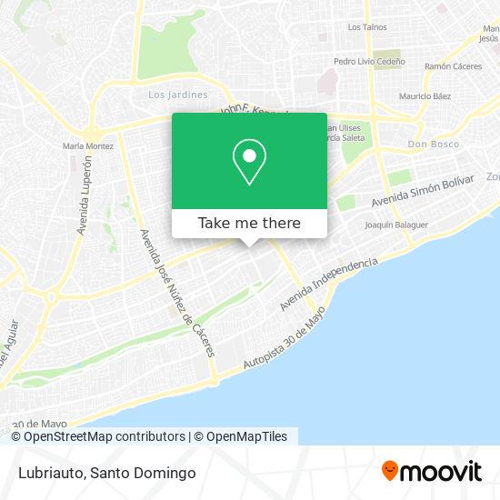 Lubriauto map