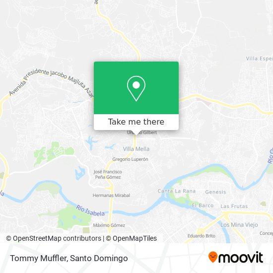 Tommy Muffler map