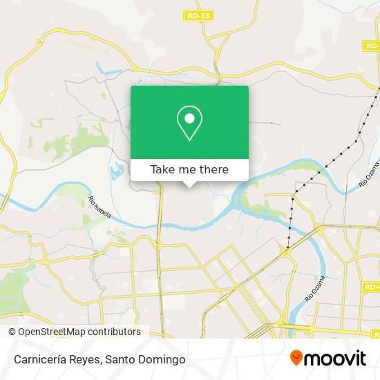 Carnicería Reyes map