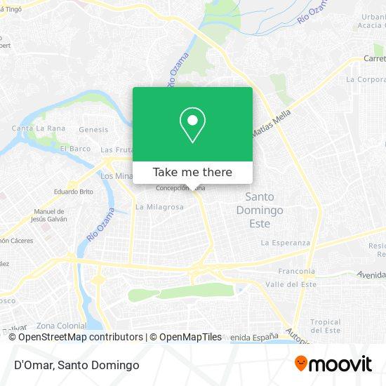 D'Omar map
