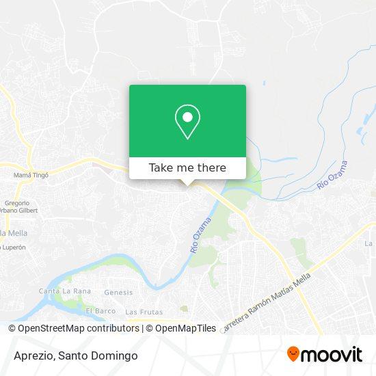 Aprezio map