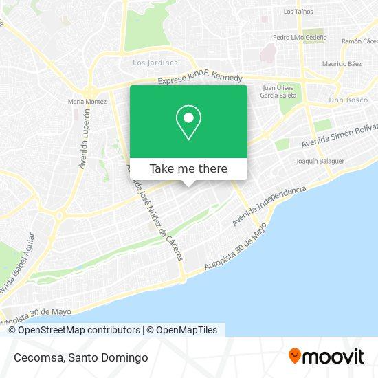 Cecomsa map