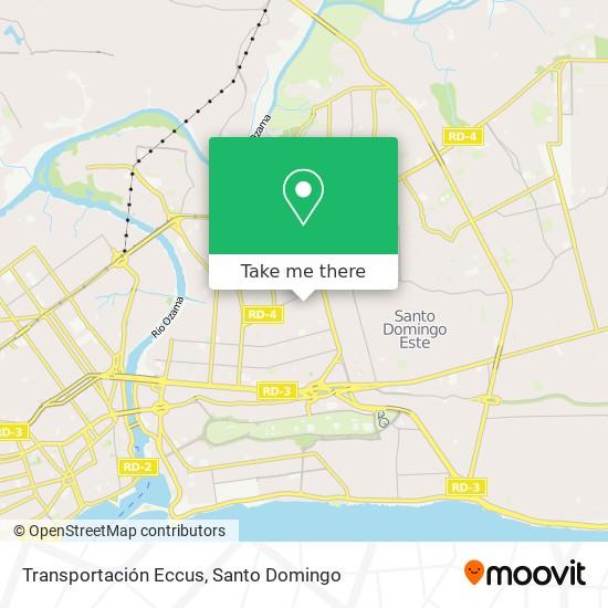 Transportación Eccus map