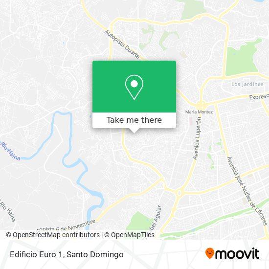 Edificio Euro 1 map