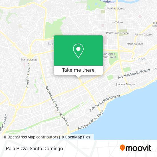 Pala Pizza map